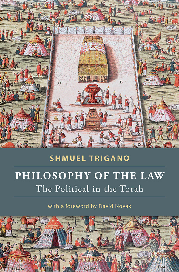 Philosophy of the Law: The Political in the Torah